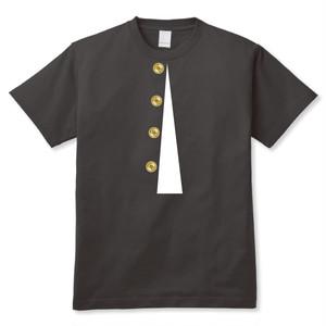 学ランだまし絵Tシャツ