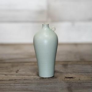 asanomi 花器2400 グリーン 【陶器 一輪挿し】