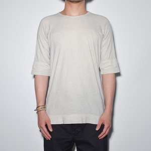 """Leather Inner"" Motion Cut-T 〈Light Grey〉"