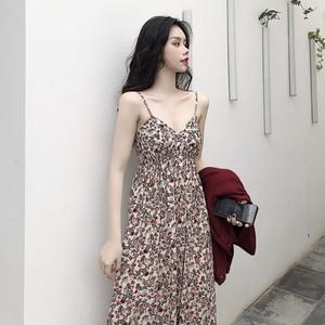 【ワンピース】新作韓国風chicシンプルゆったり合わせやすい快適な小柄ワンピース