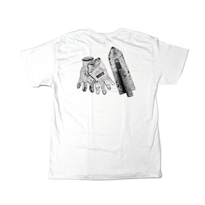 scar /////// x CCP - WORKING TEE (White)