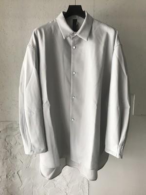 SHINYA KOZUKA 20−21AW CLASSIC SHIRT SILVER シンヤコズカ クラシックシャツ 2002SK48