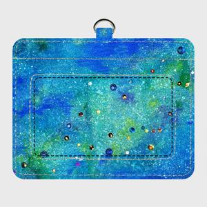 「銀河を想う」パスケース