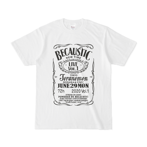 Becaustic Tシャツ
