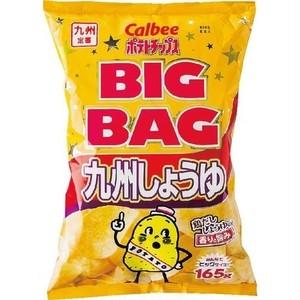 カルビー ポテトチップス BIGBAG 九州しょうゆ 165g