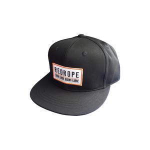 L.L.R.L. SNAPBACK CAP black/orange