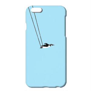 送料無料 [iPhone ケース] ペンギンと空中ブランコ A