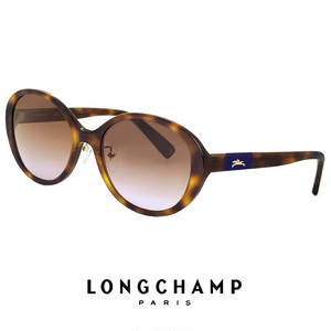 ロンシャン レディース サングラス lo679sj-214 longchamp 女性用 UVカット UV400 ゴールド オーバル