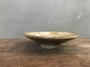 チタン釉 6寸皿
