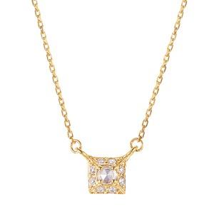 K10YGダイヤモンドネックレス 020209002258