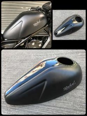 【RB0051】Fuel tank cover Diablo For Rebel 300(JP250)&500