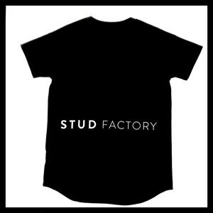 back print T-shirt(BLACK)