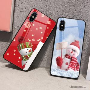 【小物】スウィートカートゥーンクリスマススマホケース25080649