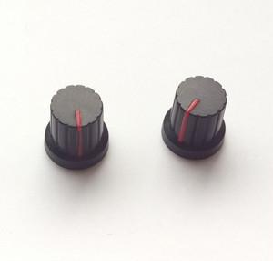 シンセ ツマミ型 マグネット 【黒×レッド】 Synth Knob Magnet SKM  | シンセサイザッカー