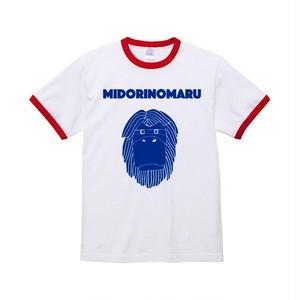 Dancing MIDORIMAN T-Shirt (WH/RD)