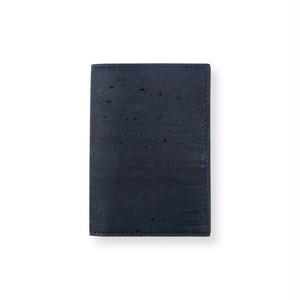 VEGAN BUSINESS CARD HOLDER  BLUE / 名刺入れ 青 コルク製