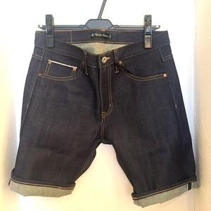 Selvage Denim Short Pants Dark Indigo