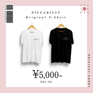 【CLUB PICCADILLY】PICCADILLY 特製 Tシャツ