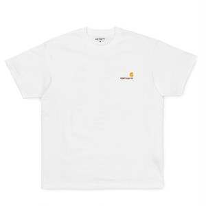 【Carhartt WIP】 S/S AMERICAN SCRIPT T-SHIRT - White カーハート 半袖 Tシャツ