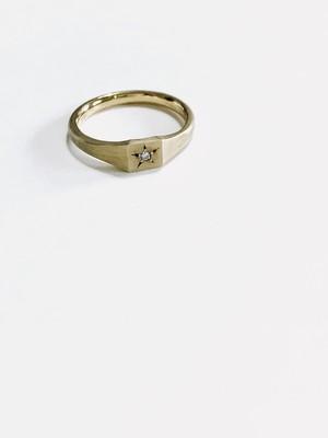 Mark holder ring (マークホルダーリング石有り)