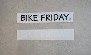 Decals, BIKE FRIDAY small, WH, BK