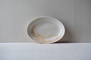 オーバルリムプレート / M / great tit egg