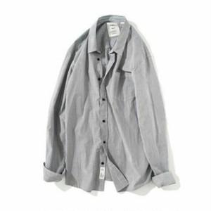 送料無料/メンズ/大きいサイズ/コットン/ストライプ/長袖シャツ