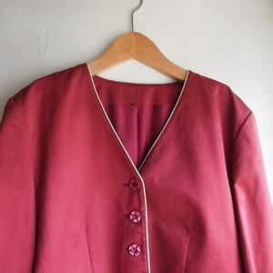 ''KENZO''vintage no collar jacket