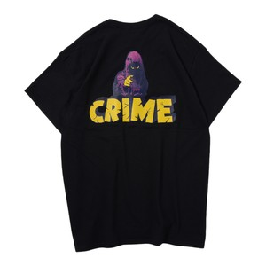 CRIME S/S TEE(BLACK)[TH9S-008]