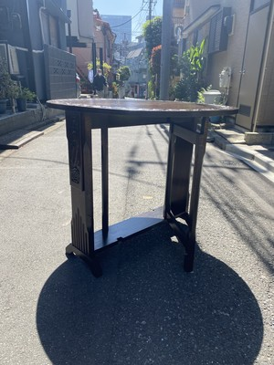 ブラジル製 antique gate leg table