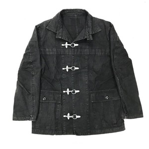 FIREMAN JACKET MOTIF COTTON JACKET