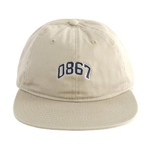 0867 / Unstructured Cap / Arch / Logo / Khaki