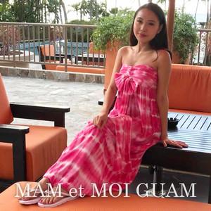 3way Tie-dye Bare Maxi dress