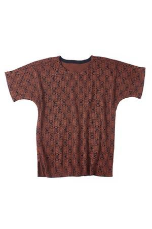 YANTOR 14G Islamic Jacquard Dolman Knit (ORANGE / size:FREE)