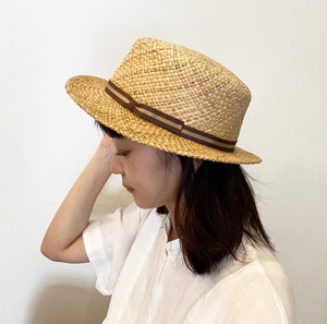 G120008 【cableami】 BOATER HAT