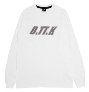 D.TT.K SHUTTER LOGO L/S WHITE
