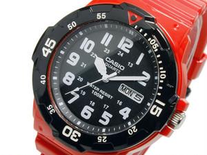 カシオ CASIO スポーツ アナログ メンズ 腕時計 MRW-200HC-4B ブラック