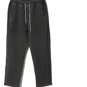 [ WEST SHORE ] indigo stretch sweat side rib pants(IS-001)