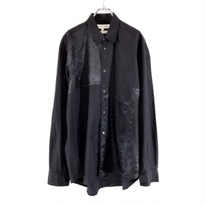 "COMME DES GARCONS SHIRT DESIGN PATCHI LIKE ""MOIRE FRINGES"""