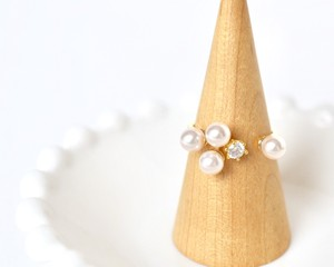 Mix pearl ring