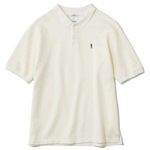 THE NERDYS / WOODY polo shirt[WHITE]
