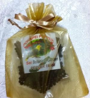 ブラックペッパー 無農薬・無化学肥料 (ラッピング袋入)