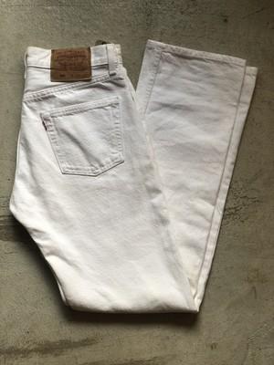 USA製 リーバイス 501 ホワイト 白 パンツ