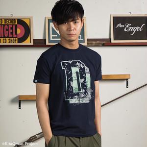 キタキュウマン着用 メンズ 半袖Tシャツ(Dビッグロゴ)