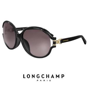 ロンシャン レディース サングラス lo629sk 001 longchamp ジャパンフィットモデル UVカット UV400 バタフライ型 ブラック