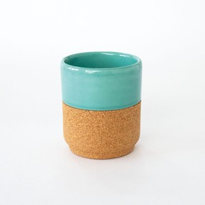 Alma Gemea TeaCup Tealblue 180ml ティーカップ 陶器 コルク コラボレーション ポルトガル 北欧
