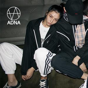 【EXO着用】ADNA reversible Zip Jacket ユニセックス パーカー BLACK 【韓国ファッション】