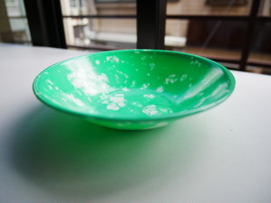 韓国の屋台で使われていた メラミン小皿(大)