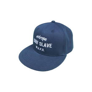 【SURF SLAVE SNAPBACK CAP】navy