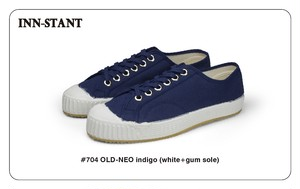 #704 OLD-NEO indigo(white+gum sole) INN-STANT インスタント 【税込・送料無料】